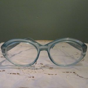 Vintage Ralph Lauren Light Blue Eyeglasses